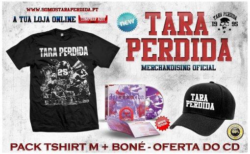 PACK TARA MEDIUM SIZE +BONÉ - OFERTA DO CD
