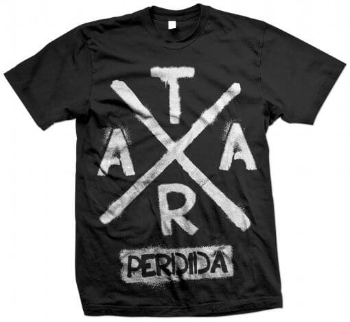 Tshirt Tara Perdida Old School